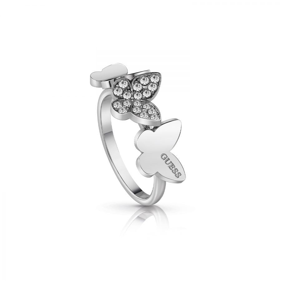 Anillo Guess Love Butterfly UBR78003-54