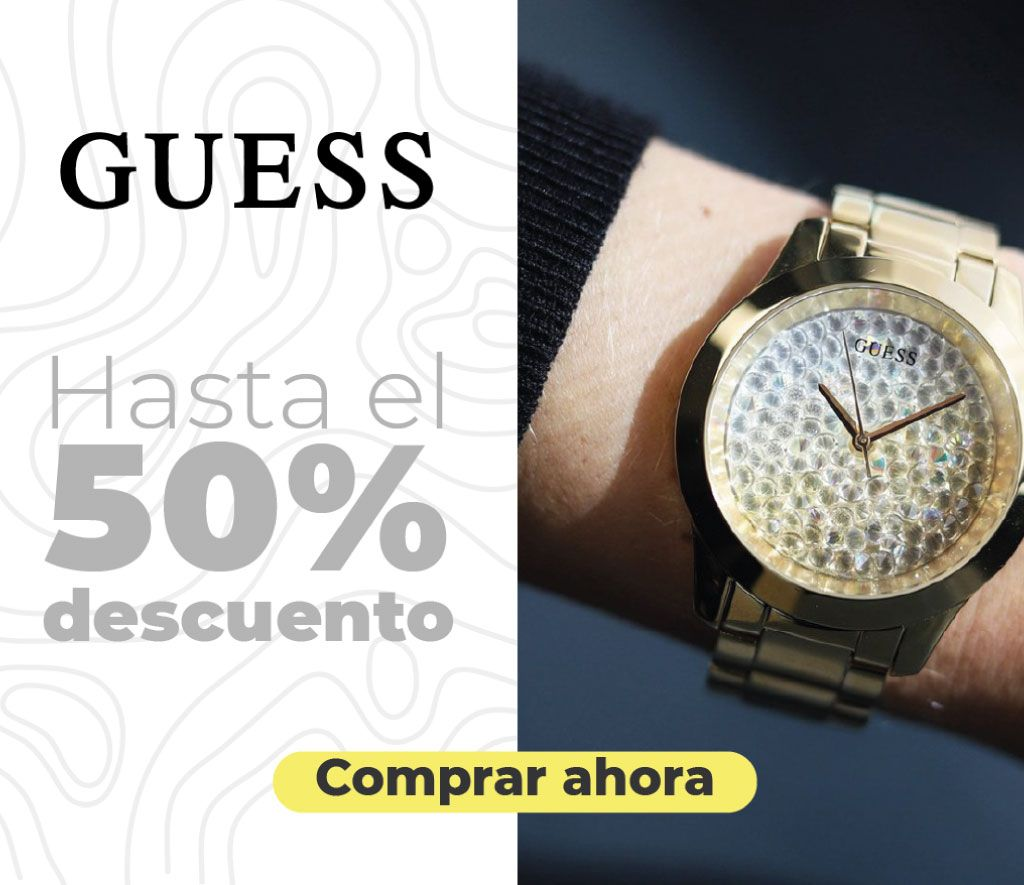 relojes mujees hombres guess