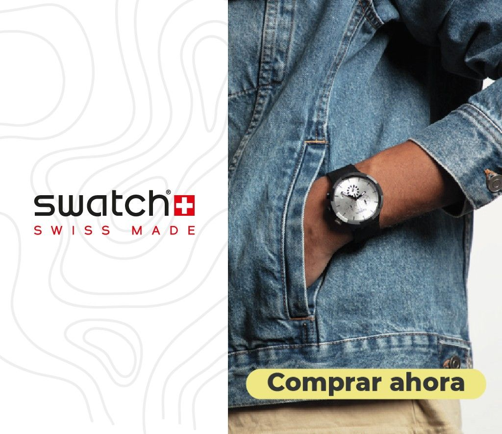 relojes mujer hombre swatch