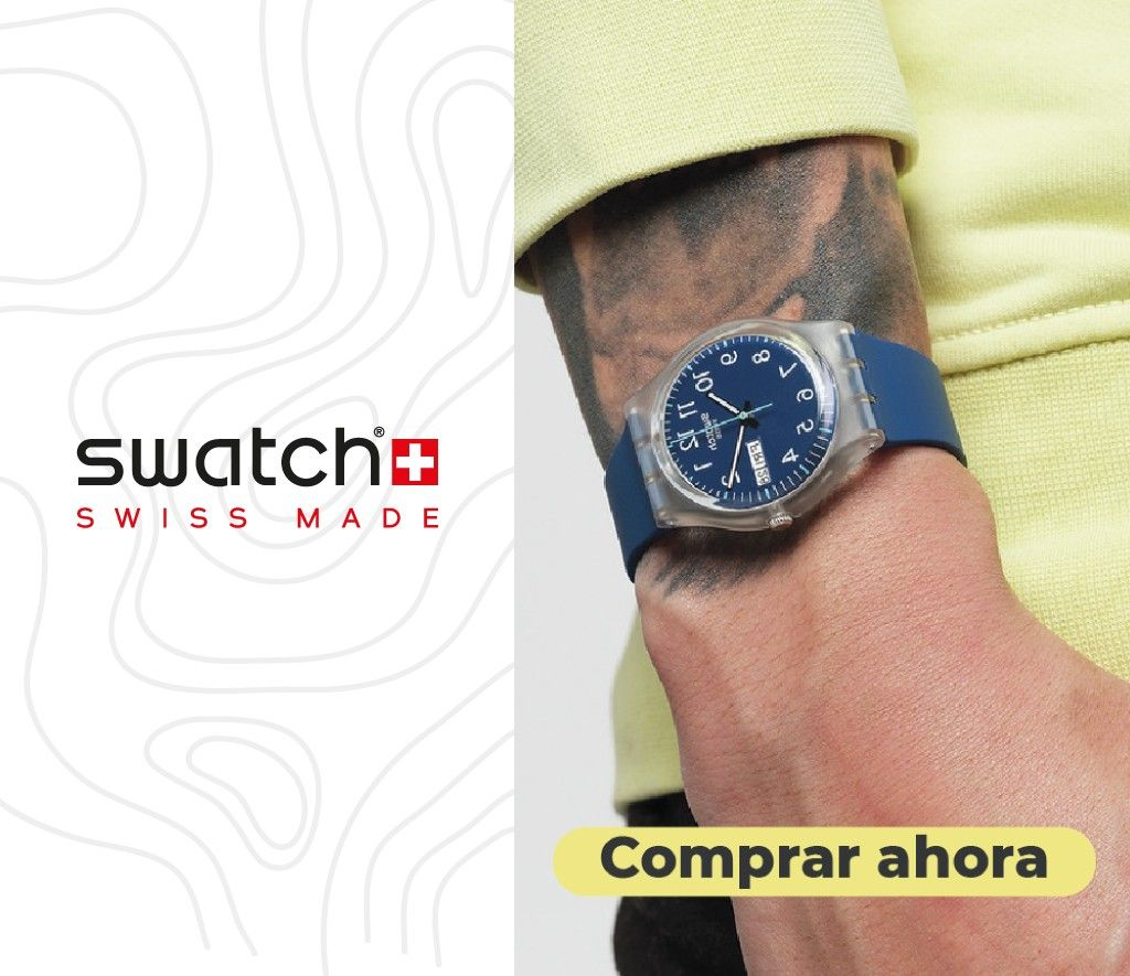 relojes mujeres hombres swatch