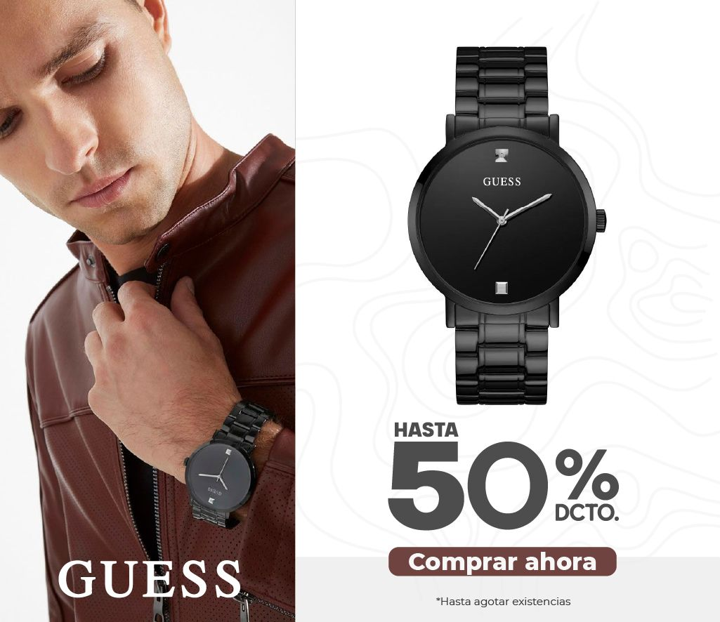 Descuentos Guess Relojes Hombres Swisssport Colombia